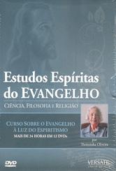 DVD-Estudos Espíritas do Evangelho (12 Dvds)