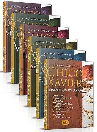 Coleção - Mensagens Para Seu Dia - Chico Xavier
