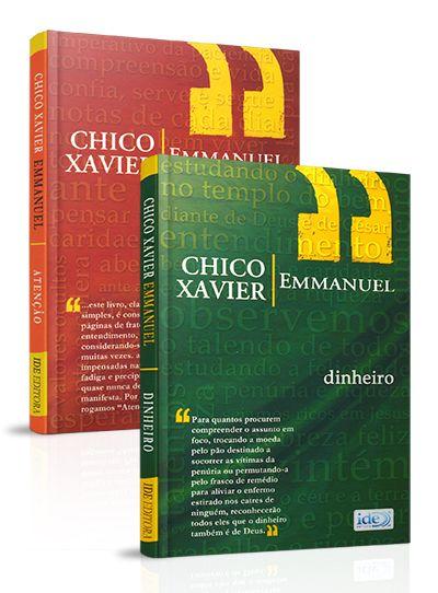 Kit- Chico Xavier e Emmanuel