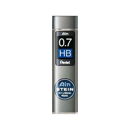 Grafite Pentel Ain Stein 0,7mm HB - C277-HBO