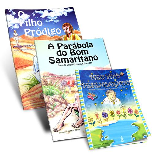 Kit - Infantil Daniella Priolli e Carvalho