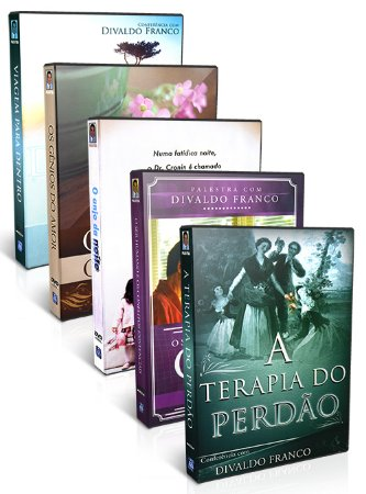 Kit - DVD Divaldo Franco - Conflitos