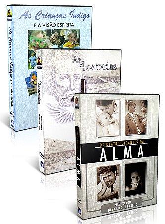 Kit - DVD  Divaldo Franco - Gigantes da Alma