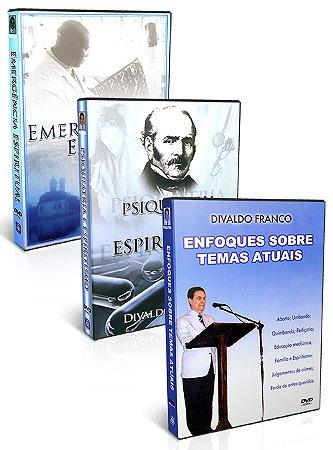 Kit - DVD Divaldo Franco - Atualidades  e Espiritualidade