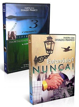 Kit-DVD Divaldo Franco - Espiritismo e Imortalidade