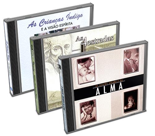 Kit - CD  Divaldo Franco - Gigantes da Alma