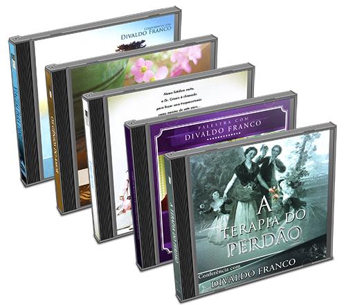 Kit - CD Divaldo Franco - Conflitos