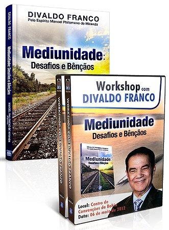 Kit - Mediunidade Desafios e Bençãos (Livro+ DVD)