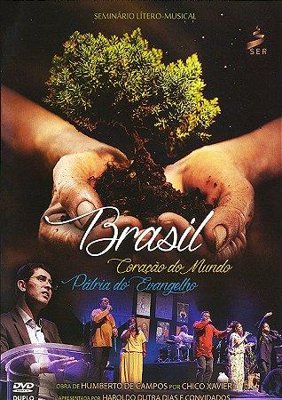 DVD-Brasil Coração do Mundo Pátria do Evangelho (Duplo)