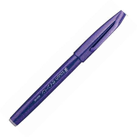 Caneta Pincel Brush Sign Pen Violeta - SES15C-V