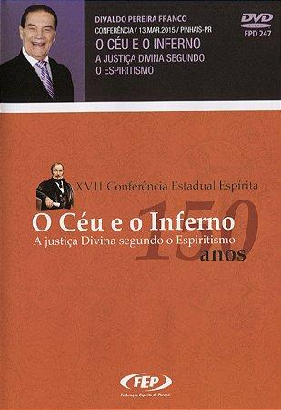 DVD-XVII CEE Céu e o Inferno, o a Justiça Divina Seg. o Esp.