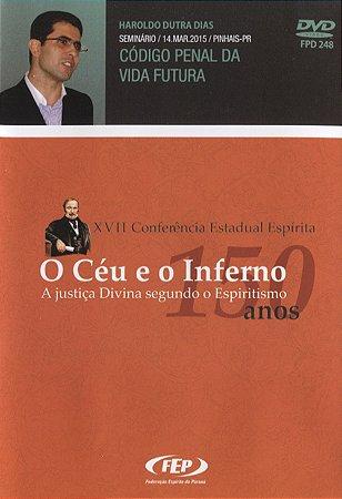 DVD-XVII CEE Codigo Penal da Vida Futura