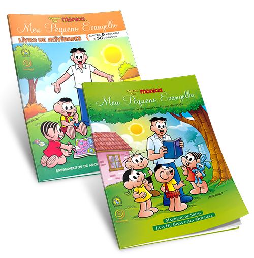 Kit- Meu Pequeno Evangelho + Livro de Atividades