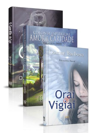 Kit - Osmar Barbosa e o Espírito Daniel