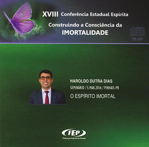 CD-XVIII CEE Espírito Imortal (O)