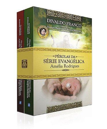 Kit-Pérolas da Série Evangélica Amélia Rodrigues Vol. 1 e 2