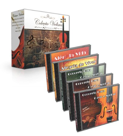 CD-Box - Coleção Violinos