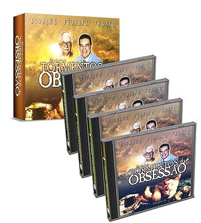 CD-Workshop Tormentos da Obsessão - 4 CDs