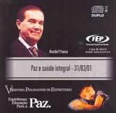 CD-V Spe Paz e Saúde Integral (Duplo)