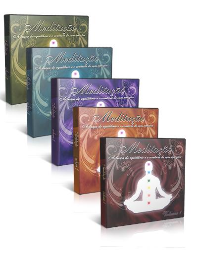 CD-BOX - COLEÇÃO MEDITAÇÃO