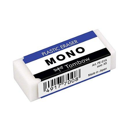 Borracha Tombow Mono Plastic Eraser Branca PE-01A