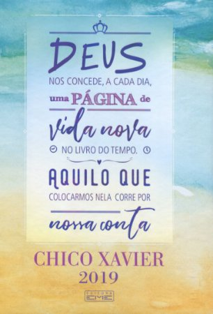 Agenda Chico Xavier 2019 - Wire-O Capa Dura