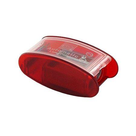 Apontador Automatic 2 Long Point AS2 Vermelho