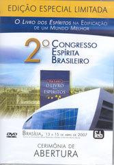 DVD-Cerimônia de Abertura 2º Congresso Espírita Brasileiro