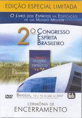 DVD-Cerimônia de Encerramento 2º Congresso Espírita Brasileiro