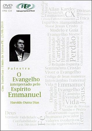 DVD-Evangelho Interpretado Pelo Espírito Emmanuel