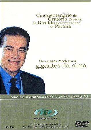 DVD-Quatro Modernos Gigantes Da Alma (Os)