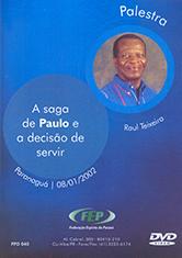 DVD-Saga de Paulo e a Dec. Servir