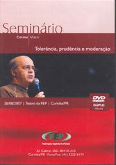 DVD-TOLERÂNCIA, PRUDÊNCIA E MODERAÇÃO (DUPLO)