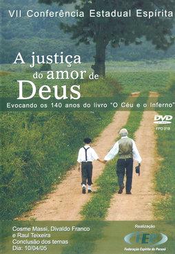 DVD-Vii Cee Justiça Do Amor De Deus (A)