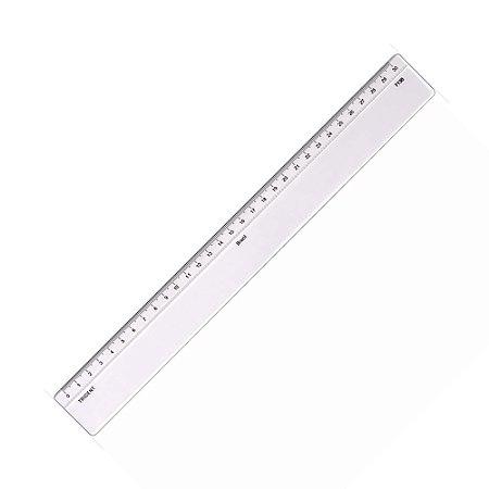 Régua Em Acrílico 30cm C/Escalas Trident 7130