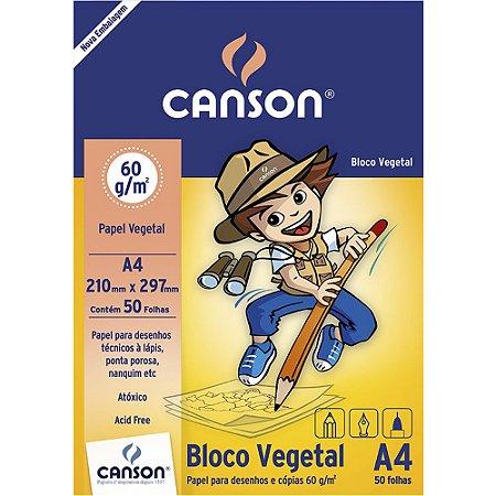 Bloco Papel Vegetal Infantil 50fls A4 60g