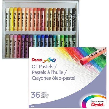 Giz Pastel Oleoso C/36 Cores PHN-36
