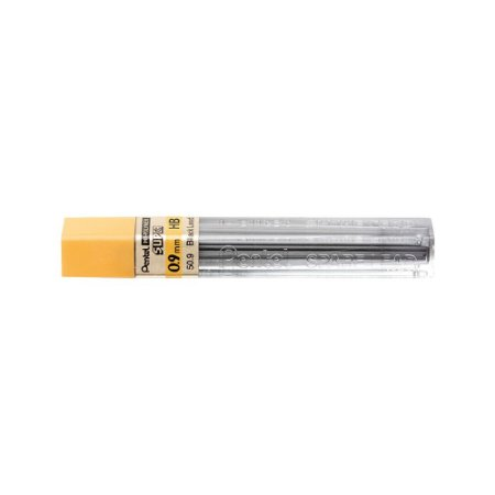 Grafite Pentel Hi-Polymer Super 0,9mm HB - 50-HB9PB