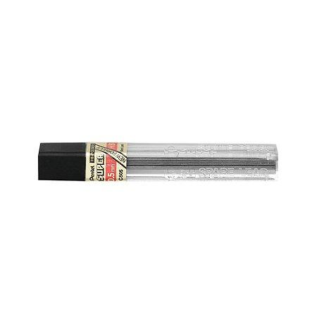 Grafite Pentel Hi-Polymer Super 0,5mm HB - C505-HBPB