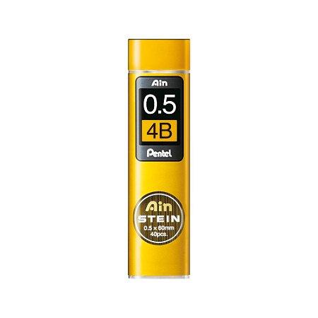 Grafite Pentel Ain Stein 0,5mm 4B - C275-4BO