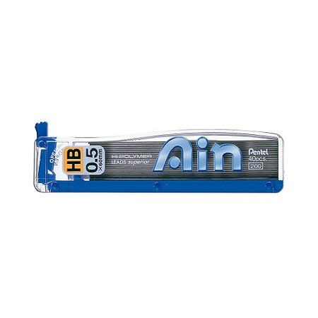 Grafite Pentel Ain 0,5mm HB - C255-HPB