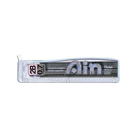 Grafite Pentel Ain 0,7mm 2B - C257-BPB