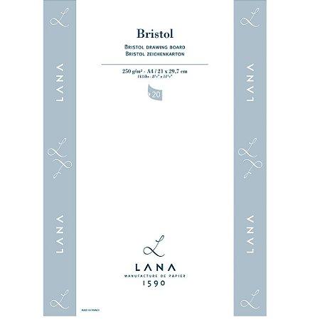 Bloco Lana Bristol A4 250g 20 Fls