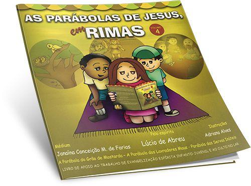 Parábolas De Jesus Em Rimas (As) – Vol. 4