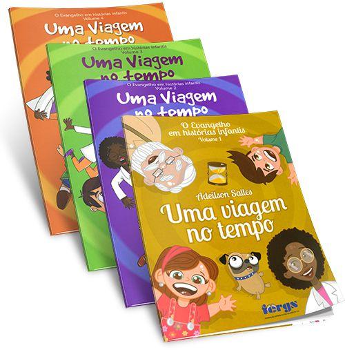 Coleção- Evangelho Em Histórias Infantis