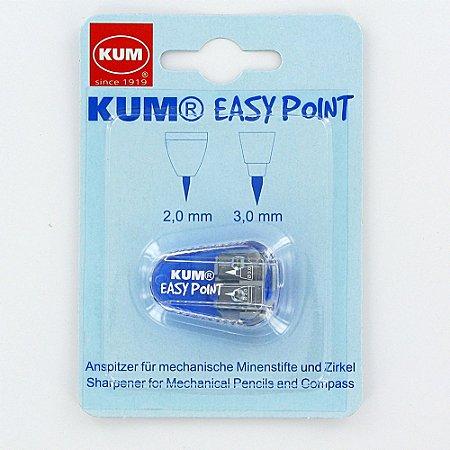 Apontador de Mina Easy Point 2 Furos Kum
