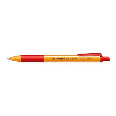 Caneta Esferográfica Pointball 6030/40 Vermelha 0.5mm