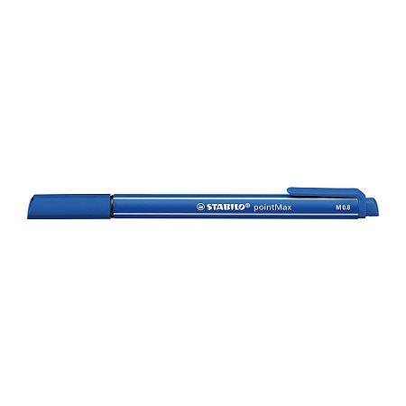 Caneta Stabilo Pointmax 488/32 Azul Escuro