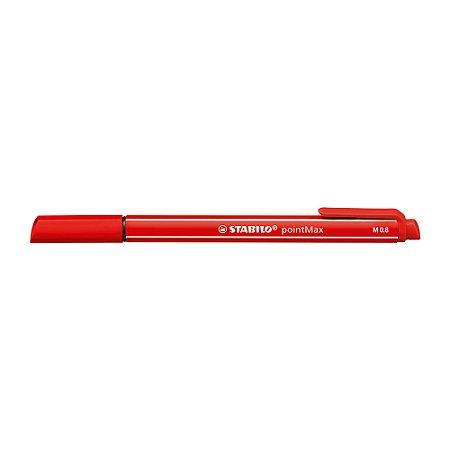 Caneta Stabilo Pointmax 488/48 Vermelho