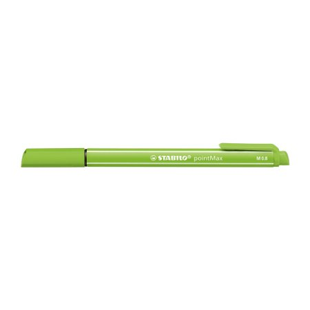Caneta Stabilo Pointmax 488/33 Maça Verde